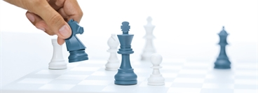 Picture concept for Services. Popular, well - known games as symbols for the expertise of Linde and the simplicity for the customer to use Linde Services.
